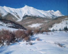 Matthew Smith | Winter on Deep Creek Mesa, Simpson Gallagher Gallery, Fine Art, Cody Wyoming, Yellowstone