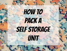 How to Pack a Self Storage Unit. 1 800 Pack Rat Promo Code V0048P3  Repinned by www.movinghelpcenter.com Follow us on Facebook!