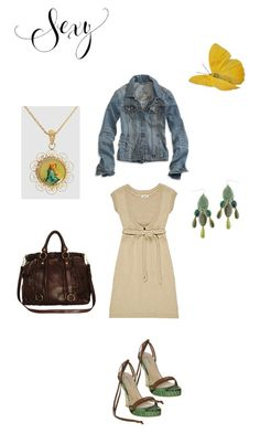 Untitled by litza on Polyvore featuring polyvore, fashion, style, Michael Kors, Miu Miu, Dolce&Gabbana, American Eagle Outfitters and Monsoon