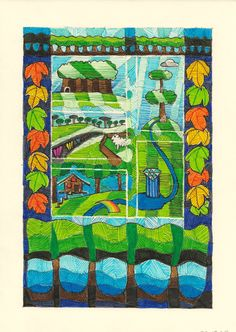 Die Blumenwiesenfee Illustration 20a: Waldreich Illustration, Quilts, Blanket, Fairy, Comforters, Blankets, Illustrations, Patch Quilt, Kilts