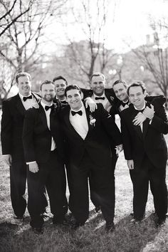 another from shelby leigh. Nice casual groomsmen photo that doesn't look so stiff/posed