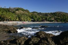 Morning sun on a Caribbean beach; Puerto Viejo, Costa Rica