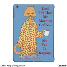 Coffee Kitty Case-Mate Barely There iPad Air Case