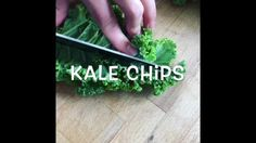 KALE CHIPS \ BOERENKOOL CHIPS >> FIND FULL MOVIE @ OUR INSTAGRAM - ~HEALTHYVSREAL~