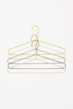 HAY set of 5 cord hangers in Yellow * Source : cosstores.com