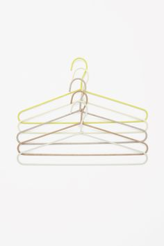 HAY set of 5 cord hangers in Yellow * Source : cosstores.com