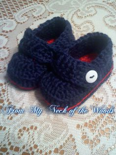 Thursday Handmade Love Week 67 Theme: Sailor Includes links to #free #crochet patterns The Sailor Boot - Made to Order via Etsy