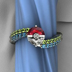 I would totally rock a pokeball wedding band... yes.. yes I would.