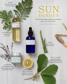 Our favorite summer skincare treatments take a cue from nature. Take a look at our natural bug screen! #shopterrain