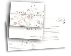 Hochzeitseinladungskarten+-+Blätterzauber Life, Card Wedding