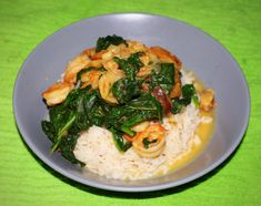 30 Minute Meal | Sautéed Shrimp & Spinach