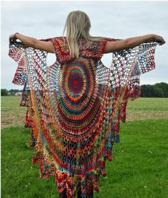 This shawl gives you wings