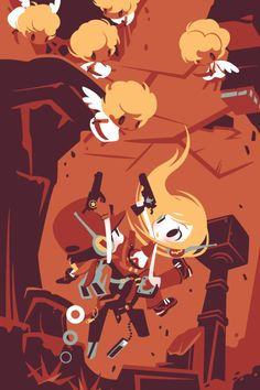 cave-story-3d-shinonoko-japanese-illustration-1.jpg 400×600 pixel