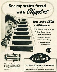 Clipper Stair Carpet Holders Stair Carpet, Museum, In This Moment, History, How To Make, Vintage, Historia, Vintage Comics, Primitive