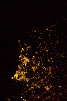 The Netherlands seen from the ISS by Dutch Astronaut Andre Kuipers