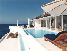 swimming pools, villa, dream, modern pool