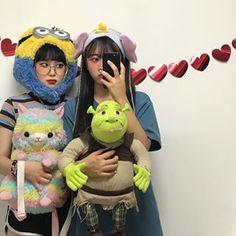 Best Friend Couples, Girls Best Friend, Ullzang Girls, Ulzzang, Korean Girl, Asian Girl, Korean Best Friends, Korean Aesthetic, Friend Pictures