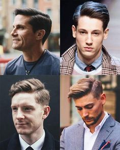 Finding The Best Short Haircuts For Men Modern Mens Haircuts, Cool Mens Haircuts, Best Short Haircuts, Men's Haircuts, Mens Hairstyles Fade, Oval Face Hairstyles, Cool Hairstyles For Men, 1950s Hairstyles, Prom Hairstyles