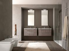 ARREDOBAGNO Light Evolution Laundry Room Cabinets, Bathroom Lighting, Evolution, Shabby Chic, Interior Design, Mirror, Studio, Furniture, Beautiful