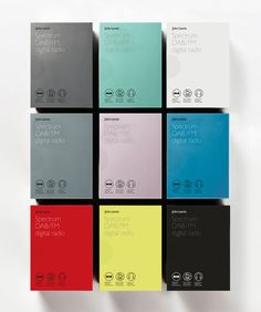 Packaging design by Pentagram for John Lewis' consumer electronics range Spectrum