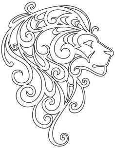 Mane Attraction | Urban Threads: Unique and Awesome Embroidery Designs