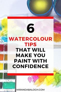 Want to learn how to improve your watercolour skills? Then click here to get 6 expert watercolour tips for beginners and novices. These watercolours tips and tricks will help you understand the importance practicing watercolour brush techniques, why studying colour theory is necessary, and which art supplies are the best to invest in. By following these watercolour dos and don'ts, you'll become a more confident painter in no time! Watercolour Tips, Watercolor Paintings For Beginners, Acrylic Painting Tutorials, Easy Watercolor, Watercolour Tutorials, Importance Of Art, Craft Projects For Adults, Art Education Projects, Fun Arts And Crafts