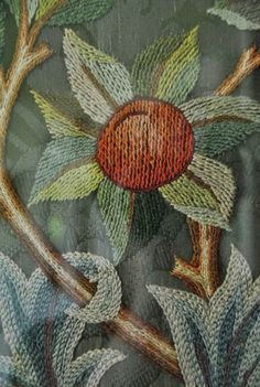 may morris embroidery - Google Search