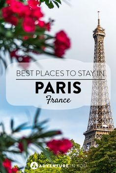 Paris, France | Looking for where to stay in Paris, France? Here are our top recommendations for both hostels and hotels that would suit any type of budget!