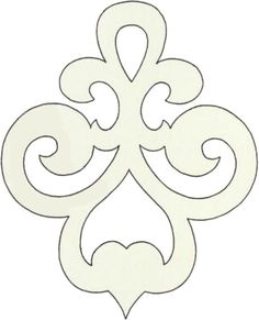 Scroll saw pattern ornament Stencil Patterns, Stencil Designs, Applique Patterns, Art Patterns, Cross Patterns, Quilting Designs, Embroidery Designs, Stencils, Scroll Saw Patterns Free