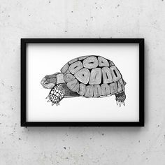 This print is of my original hand drawn tortoise pen and ink illustration, available on Etsy. I love the simplicity of working in black and white and then adding in detailed patterns.  Inspired by the wise and magnificent tortoise which can live to the ripe old age of 150. Beach home decor. Tea Illustration, Ink Illustrations, Black And White Beach, Monochrome Nursery, No Plastic, Beach Art, Beach House Decor, Nautical Theme, Beach Themes