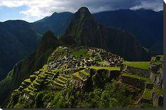 The Lost City - Machu Picchu, Peru by Phil McComiskey