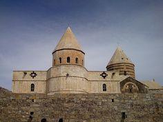 St.Tadeh Church (Ghare kelisa)  in Iran near Maku