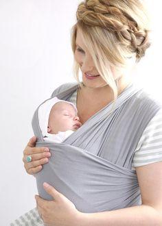 Solly Baby Wrap | Paloma Grey | #VonbonBabyGiveaway | http://blog.vonbon.ca