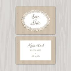 Decorative rustic save the date invitation Wedding Menu Template, Wedding Invitation Card Template, Luxury Wedding Invitations, Save The Date Invitations, Pink And White Background, Vintage Wedding Cards, Rustic Save The Dates, Wedding Card Design, Wedding Ideas