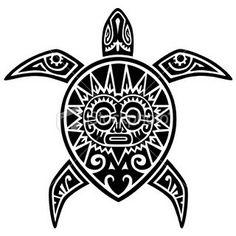 Maori Tribal Turtle