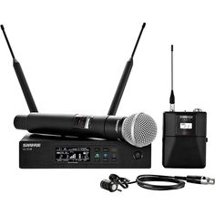 Shure Wireless Bodypack and Vocal Combo System with WL185 and SM58 Ban