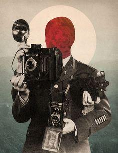 Illustrations & Collages by Chase Kunz | -::[robot:mafia]::- .ılılı. electronic beats ★ visual art .ılılı.