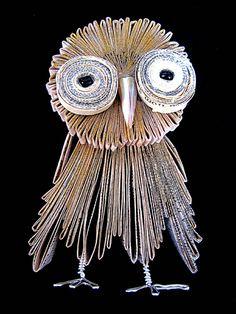 Bronia Sawyer Owl Book Art