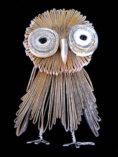 Bronia Sawyer Owl Book Art