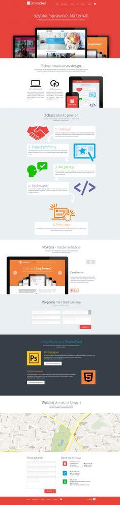 PromoPixel, Infographic style