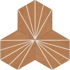 Moroccan Encaustic Cement Hexagonal Tile Artic-25-hex