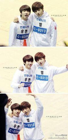woohyun&myungsoo