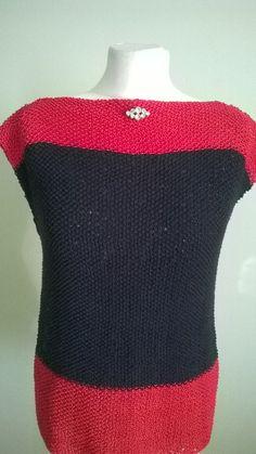 Colour Block Cotton Top | contact@deloresdesigns.com