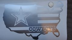 USA Flag Dallas Cowboys car decal   #DallasCowboys #dallas #cowboys #silver #texas #girls #usa #star #flag #nfl #nfc #afc #football #pro #room #champions #game #follow #blue #raiders #field #sticker #decal #share #love #like #cheer #leader #fun #play #sports