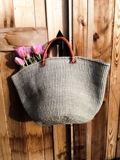 greige: interior design ideas and inspiration for the transitional home : Grey Market bags...