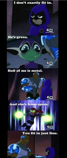 And THIS is why Teen Titans is great :)