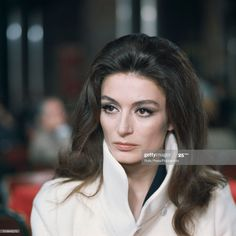 News Photo : French actress Anouk Aimee pictured during... French Beauty, Timeless Beauty, Classic Beauty, French Actress, Old Actress, Anouk Aimée, Old Movie Stars, Film Inspiration, Magritte