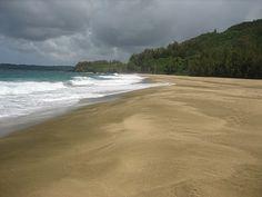 Lumahai' Beach Kauai' Hawaii