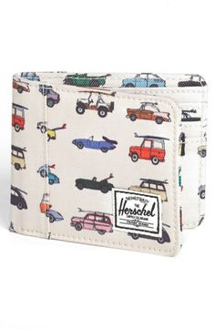 Herschel Supply Co. 'Edward - Rad Cars with Rad Surfboards Collection' Wallet available at #Nordstrom
