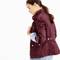 The downtown field jacket:  THAT color! Can't wait to see it in person!